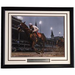 Mike Smith 22x27 Custom Framed Photo Display