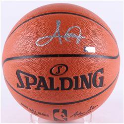 Kyrie Irving Signed Celtics Game Ball Series Basketball (Panini COA)