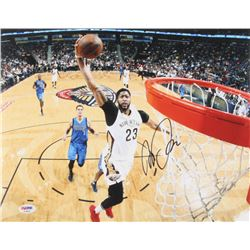 Anthony Davis Signed Pelicans 11x14 Photo (PSA COA)