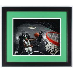 Isaiah Thomas Signed Celtics 17x20 Custom Framed Photo Display (Fanatics COA)