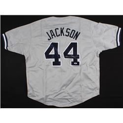 Reggie Jackson Signed Yankees Jersey (Beckett Hologram)