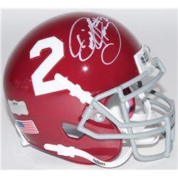 Derrick Henry Signed Alabama Crimson Tide Mini-Helmet (Radtke COA)