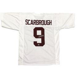 Bo Scarbrough Signed Alabama Crimson Tide Jersey (Scarbrough Hologram)