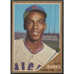 1962 Topps #25 Ernie Banks