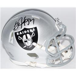 Bo Jackson Signed Raiders Speed Mini-Helmet (Radtke COA  Jackson Hologram)