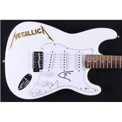 "Lars Ulrich Signed ""Metallica"" Full-Size Huntington Electric Guitar (Beckett COA)"