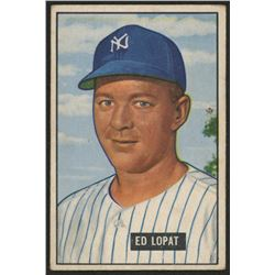 1951 Bowman #218 Ed Lopat