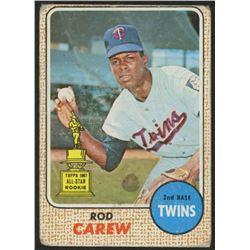 1968 Topps #80 Rod Carew