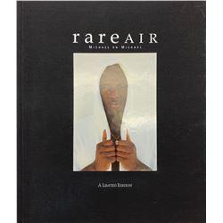 "Michael Jordan Signed LE ""Rare Air: Michael on Michael"" Hardcover Book (UDA Hologram)"