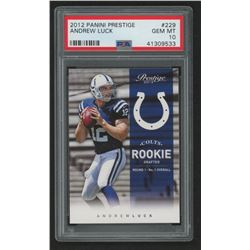 2012 Prestige #229A Andrew Luck RC (PSA 10)