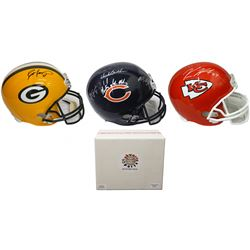 Schwartz Sports Football Superstar Signed Full Size Football Helmet Mystery Box - Series 4 (Limited