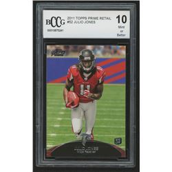 2011 Topps Prime Retail #52 Julio Jones RC (BCCG 10)