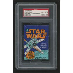 1978 Topps Star Wars Series 5 Wax Pack (PSA 8)