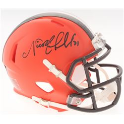 Nick Chubb Signed Browns Speed Mini Helmet (Radtke COA)