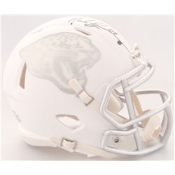 Mark Brunell Signed Jaguars White ICE Speed Mini Helmet (Radtke COA)