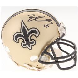 Brandin Cooks Signed Saints Mini-Helmet (Radtke COA)