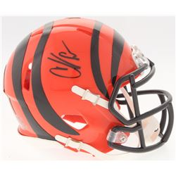 Chad Johnson Signed Bengals Speed Mini-Helmet (Radtke COA)