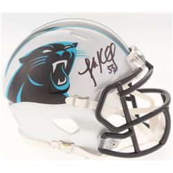 Luke Kuechly Signed Panthers Mini Speed Helmet (Radtke COA)