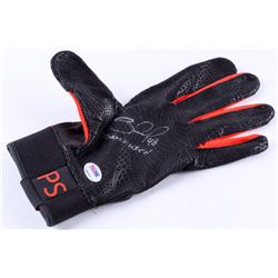 "Pablo Sandoval Signed Game-Used Batting Glove Inscribed ""Game Used"" (PSA COA)"