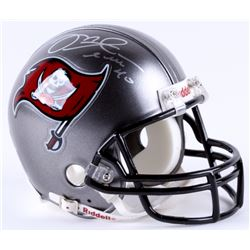 Mike Alstott Signed Buccaneers Mini-Helmet (Radtke COA)
