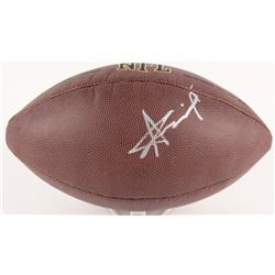 Alvin Kamara Signed NFL Football (Beckett COA)