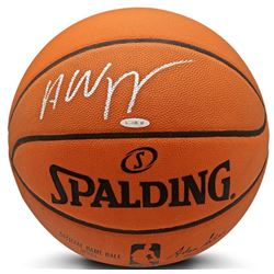 Andrew Wiggins Signed NBA Official Game Ball Series Basketball (UDA COA)