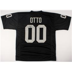 "Jim Otto Signed Raiders Jersey Inscribed ""H.O.F. 1980"" (JSA COA)"