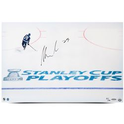 "William Nylander Signed Maple Leafs ""2017 Playoffs"" 16x24 Limited Edition Photo (UDA COA)"