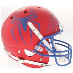 """Stan Lee Signed """"Spider-Man"""" Full-Size Helmet (Radtke COA  Lee Hologram)"""