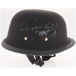 "Ryan Hurst  Tommy Flanagan Signed ""Sons of Anarchy"" Biker Helmet Inscribed ""Opie"" (Radtke COA)"