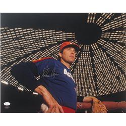 Nolan Ryan Signed Astros 16x20 Photo (JSA COA  Ryan Hologram)