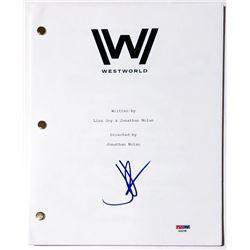 "J. J. Abrams Signed ""Westworld"" Full Pilot Episode Script (PSA COA)"