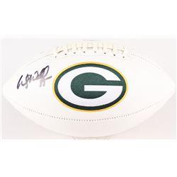 Wesley Walls Signed Packers Logo Football (Radtke Hologram)