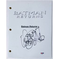 "Danny DeVito Signed ""Batman Returns"" Full Movie Script (PSA COA)"