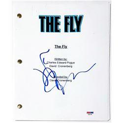 "Jeff Goldblum Signed ""The Fly"" Full Movie Script (PSA COA)"
