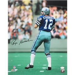 Roger Staubach Signed Cowboys 16x20 Photo (JSA COA)