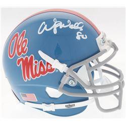 Wesley Walls Signed Ole Miss Rebels Mini Helmet (Radtke COA)
