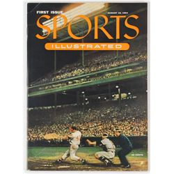 Eddie Mathews Signed 1954 First Issue Sports Illustrated Magazine (JSA ALOA)