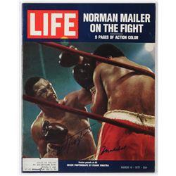 Muhammad Ali  Joe Frazier Signed 1971 Life Magazine (JSA ALOA)