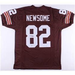 "Ozzie Newsome Signed Browns Jersey Inscribed ""HOF 99"" (Beckett COA)"
