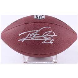 Rod Woodson SIgned Wilson NFL Football (Schwartz COA)