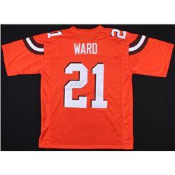 Denzel Ward Signed Browns Jersey (JSA COA)