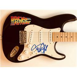 Michael J. Fox Signed Electric Guitar (JSA LOA)