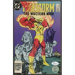"Stan Lee Signed 1988 ""Firestorm: The Nuclear Man"" Issue #82 DC Comic Book (JSA COA  Lee Hologram)"