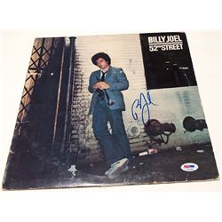 "Billy Joel Signed ""52nd Street"" Vinyl Record Album (PSA COA)"