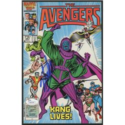 "Stan Lee Signed 1986 ""The Avengers"" Issue #267 Marvel Comic Book (JSA COA  Lee Hologram)"