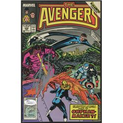 "Stan Lee Signed 1989 ""The Avengers"" Issue #299 Marvel Comic Book (JSA COA  Lee Hologram)"