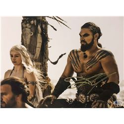 "Jason Momoa Signed ""Game of Thrones"" 11x14 Photo (Beckett COA)"