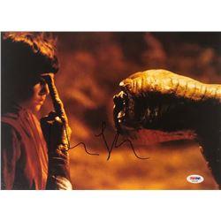 """Henry Thomas Signed """"E.T. the Extra-Terrestrial"""" 11x14 Photo (PSA COA)"""