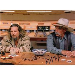 "Jeff Bridges  Sam Elliott Signed ""The Big Lebowski"" 11x14 Photo (PSA COA)"